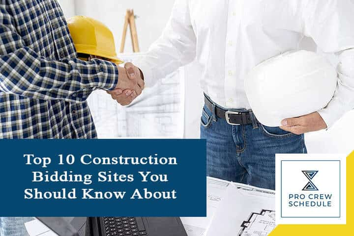 Top 10 Construction Bidding Sites You Should Know About